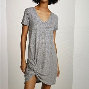 Z supply side knot T-shirt dress